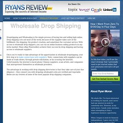 Drop Shipping Companies - Worldwide Brands