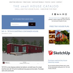 No. 9 - Tethys Shipping Container House — THE small HOUSE CATALOG