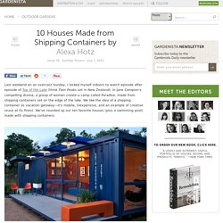 10 Houses Made from Shipping Containers: Gardenista