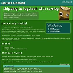 shipping to logstash with rsyslog - logstash cookbook