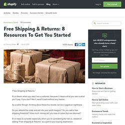 Free Shipping & Returns: 8 Resources To Get You Started