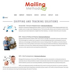 Postage Meters Shipping & Tracking Solutions in St Louis