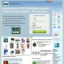 Drop Shipping Source Wholesale Dropshipper