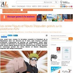 Les anime Naruto et Naruto Shippuden gratuits sur la plateforme ADN