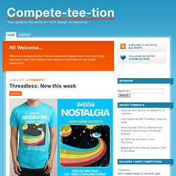 compete-tee-tion.com | a t-shirt competition guide for designers and enthusiasts