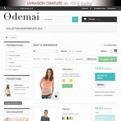 Tee shirt femme en ligne Boutique - Odemai