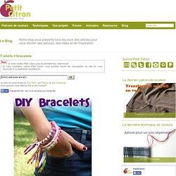 T-shirts + bracelets