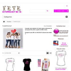 T-shirts EVJF / future mariée - FEV / Echarpes Miss