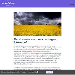 Shitstormens anatomi - Astrid Haug