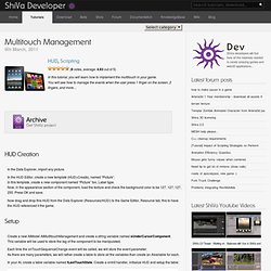 Multitouch Management