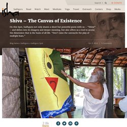 Shiva – The Canvas of Existence
