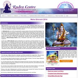MAHA SHIVARATRI-The Night of Lord Shiva/MahaShivratri Festival 2010/Maha Shivratri Festival,Mahashivratri Celebrations