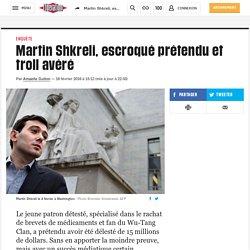 Martin Shkreli, escroqué prétendu et troll avéré