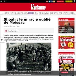 Shoah : le miracle oublié de Moissac