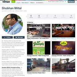 Shobhan Mittal on Vimeo