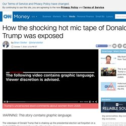 Top story: How the shocking hot mic tape of Donald Trump was exposed - Oct. 7, … see more
