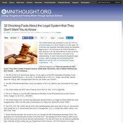 32 Shocking Facts About the Legal System