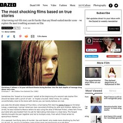 The most shocking films based on true stories