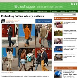 25 Shocking Fashion Industry Statistics