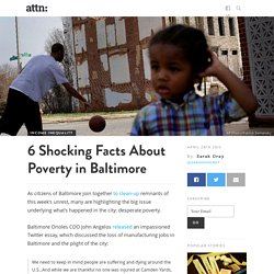 6 Shocking Facts About Poverty in Baltimore