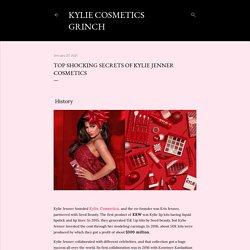 Top shocking secrets of Kylie Jenner Cosmetics