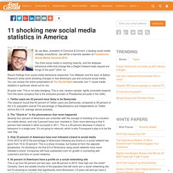 11 shocking new social media statistics in America