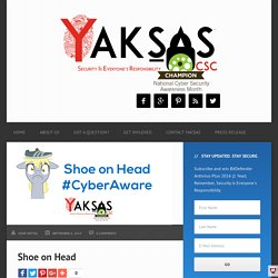Shoe on Head - Yaksas CSC