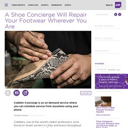 Shoe Repair Has Moved Onto Your Phone