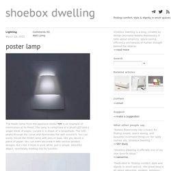 Poster Lamp