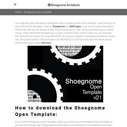Open Template - Shoegnome