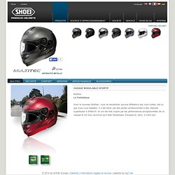 Casque SHOEI Multitec
