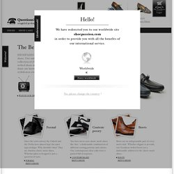 Les chaussures pour homme avec passion – SHOEPASSION.com