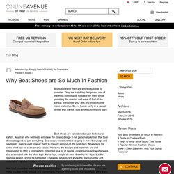 Why Boat Shoes are So Much in Fashion