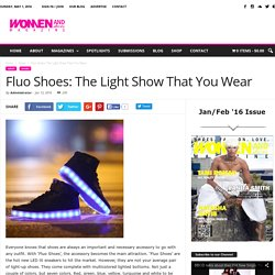 Fluo Shoes: The Light Show That You Wear - Women and Shoes Magazine