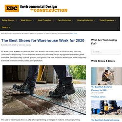 12 Best Shoes for Warehouse Work Reviewed and Rated in 2020