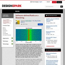 Software-defined Radio on a Shoestring