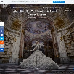 What it's like to shoot in a real life Disney library - Stift Admont