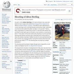 Shooting of Alton Sterling