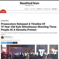 Kenosha Shooting Suspect Kyle Rittenhouse Criminal Complaint