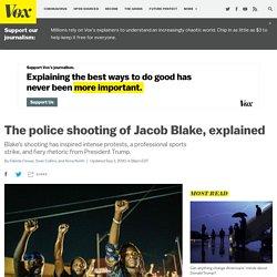 The police shooting of Jacob Blake in Kenosha, Wisconsin, explained