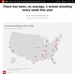 2018 school shootings: A list of incidents that resulted in casualties