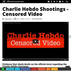 Charlie Hebdo Shootings - Censored Video