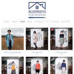 Shop — Blueprints For Sewing