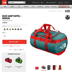 The North Face Equipment Luggage/Duffels BASE CAMP DUFFEL