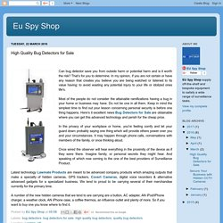 Eu Spy Shop: High Quality Bug Detectors for Sale