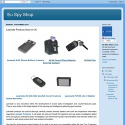 Eu Spy Shop: Lawmate Products Store in UK