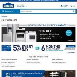 Refrigerators at Lowe's: Counter Depth Refrigerators, French Door Refrigerator