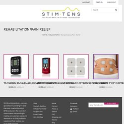 Shop for Back Pain Relief Machine - Stimtens