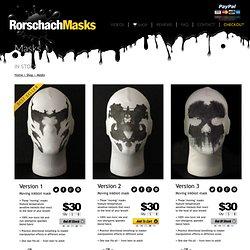 Shop — RorschachMasks.com