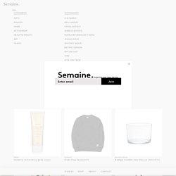 Shop - Semaine
